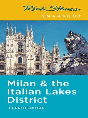 cover image of Rick Steves Snapshot Milan & the Italian Lakes District