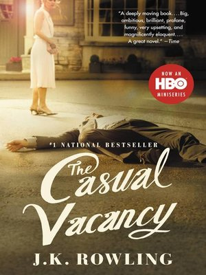 cover image of The Casual Vacancy