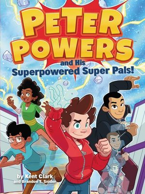 cover image of Peter Powers and His Superpowered Super Pals!