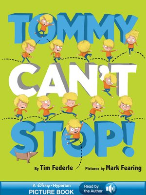cover image of Tommy Can't Stop!