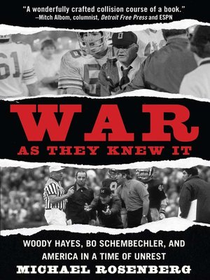 cover image of War As They Knew It