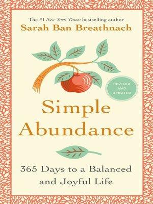 cover image of Simple Abundance