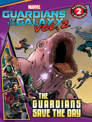 cover image of Guardians Save the Day
