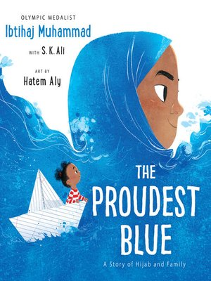 cover image of The Proudest Blue