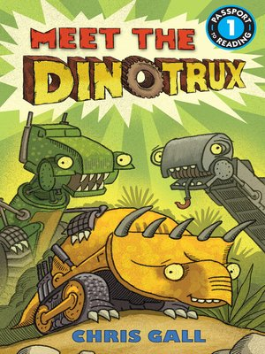 cover image of Meet the Dinotrux