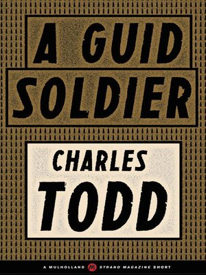 cover image of A Guid Soldier