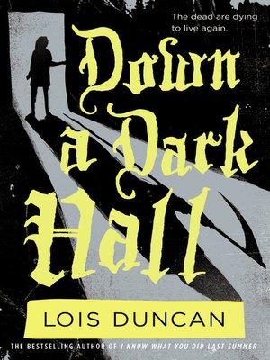 A summary of the novel the third eye by lois duncan