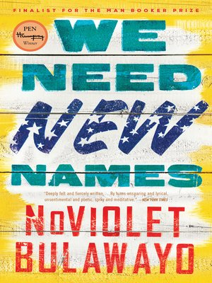cover image of We Need New Names