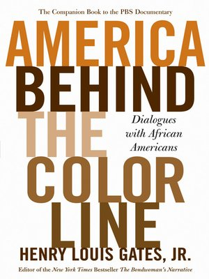 cover image of America Behind the Color Line