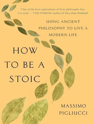cover image of How to Be a Stoic