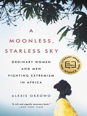 cover image of A Moonless, Starless Sky
