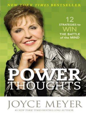 cover image of Pensamientos de Poder