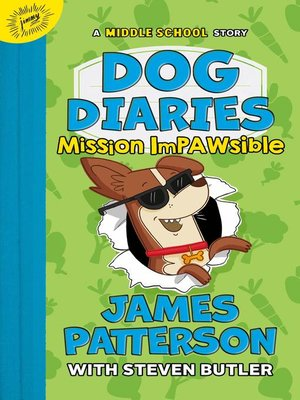 cover image of Dog Diaries: Mission Impawsible