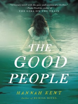 cover image of The Good People