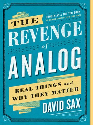 cover image of The Revenge of Analog