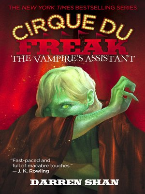 cover image of The Vampire's Assistant