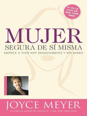 cover image of Mujer segura de si misma