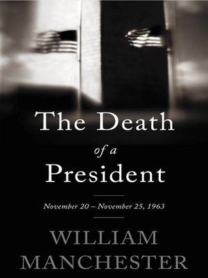 cover image of The Death of a President