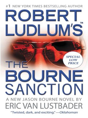 cover image of The Bourne Sanction