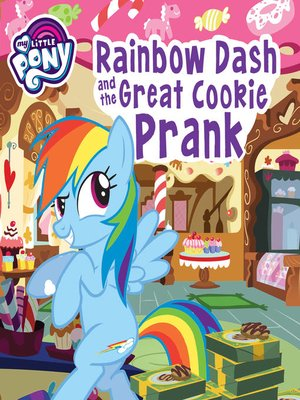 cover image of Rainbow Dash and the Great Cookie Prank