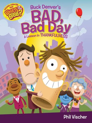cover image of Buck Denver's Bad, Bad Day