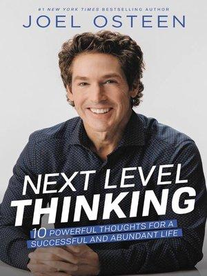 cover image of Next Level Thinking