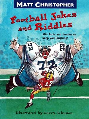 cover image of Matt Christopher's Football Jokes and Riddles