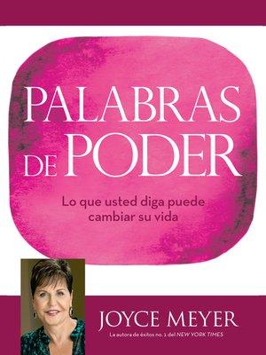cover image of Palabras de Poder