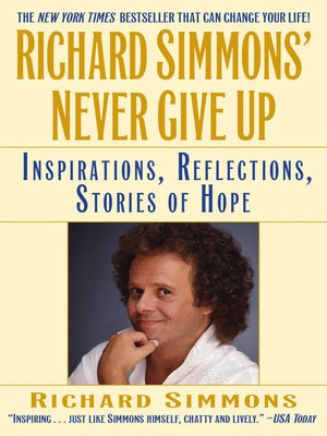 cover image of Richard Simmons' Never Give Up