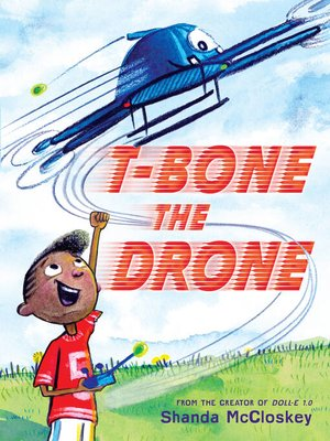 cover image of T-Bone the Drone