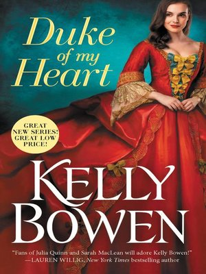 cover image of Duke of My Heart