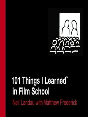 cover image of 101 Things I Learned<sup>TM</sup> in Film School