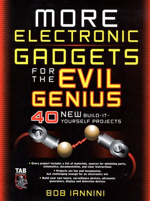 cover image of MORE Electronic Gadgets for the Evil Genius