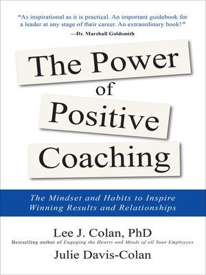 cover image of The Power of Positive Coaching