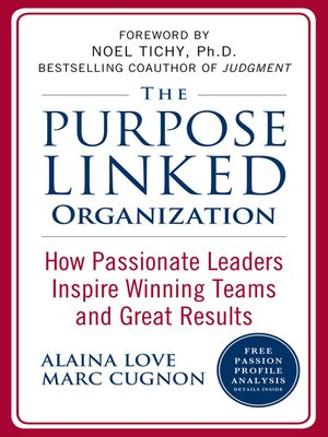 cover image of The Purpose Linked Organization