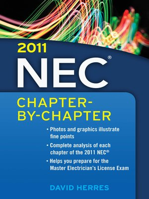 cover image of 2011 National Electrical Code