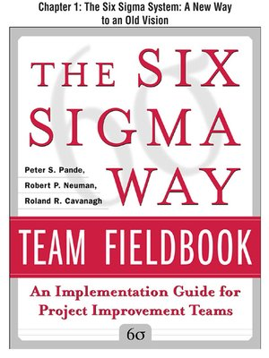 cover image of The Six Sigma System