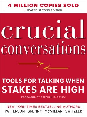 cover image of Crucial Conversations Tools for Talking When Stakes Are High