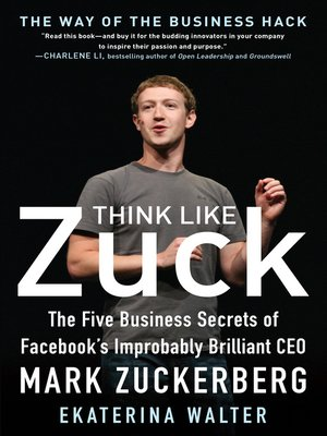 cover image of Think Like Zuck