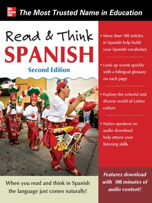 cover image of Read and Think Spanish