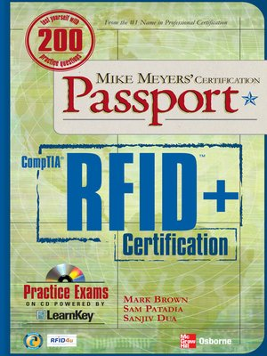 cover image of Mike Meyers' CompTIA&#174; RFID<sup>TM</sup>+ Certification Passport