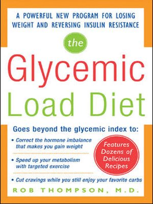 cover image of The Glycemic-Load Diet