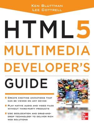 cover image of HTML5 Multimedia Developer's Guide