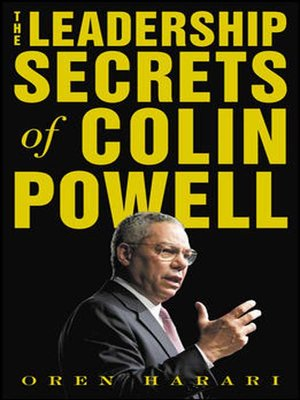 cover image of The Leadership Secrets of Colin Powell