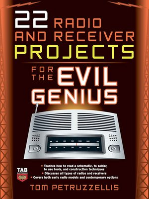 cover image of 22 Radio and Receiver Projects for the Evil Genius