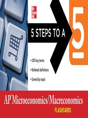 cover image of AP Microeconomics/Macroeconomics Flashcards