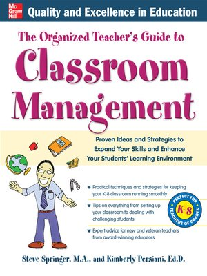 cover image of The Organized Teacher's Guide to Classroom Management