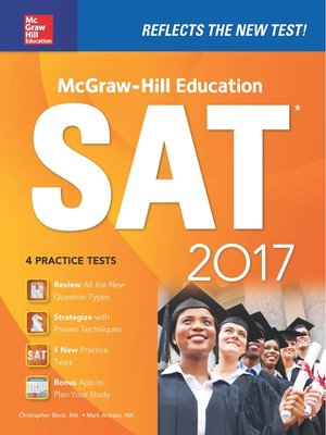 cover image of McGraw-Hill Education SAT 2017 Edition