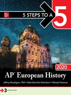 cover image of 5 Steps to a 5: AP European History 2020