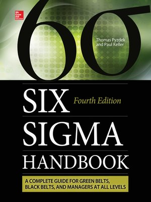 cover image of The Six Sigma Handbook